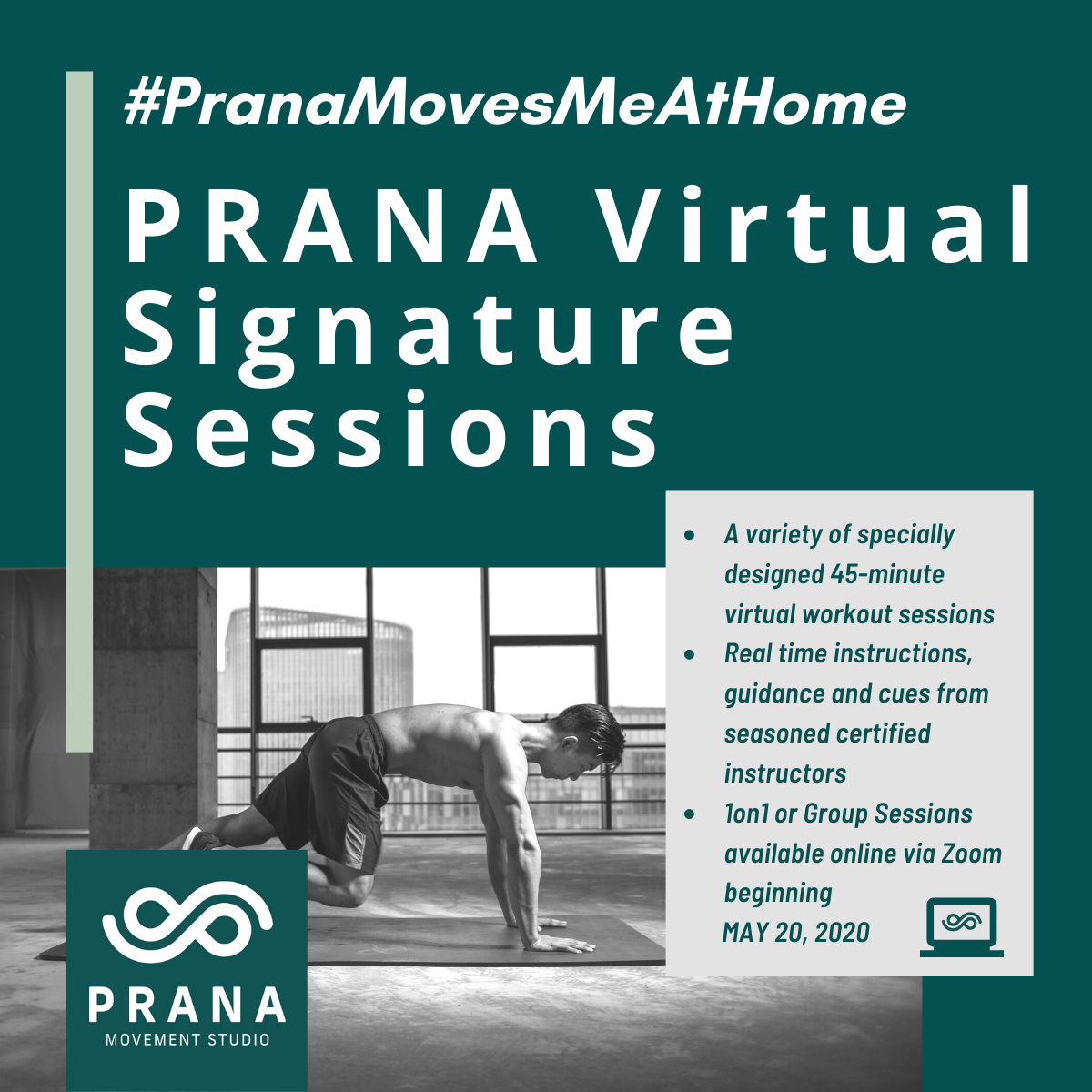 PRANA Virtual Signature Sessions